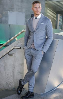 Comfort Suit Medium Grey