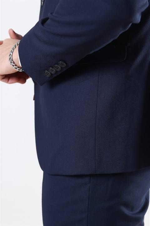 Selected New One Mylo Logan Blazer Navy