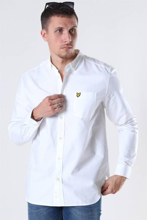 Lyle & Scott Oxford Skjorte White