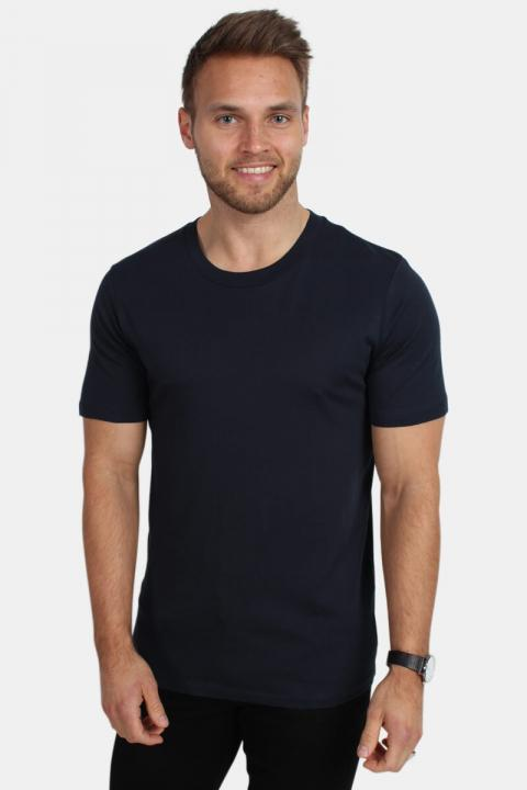 Selected The Perfect Tee O-Neck Dark Sapphire