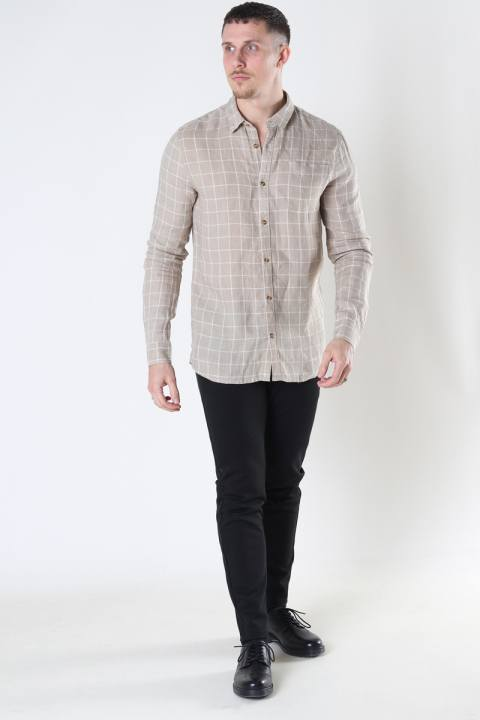 Tailored & Originals TOAlf LS White Pepper