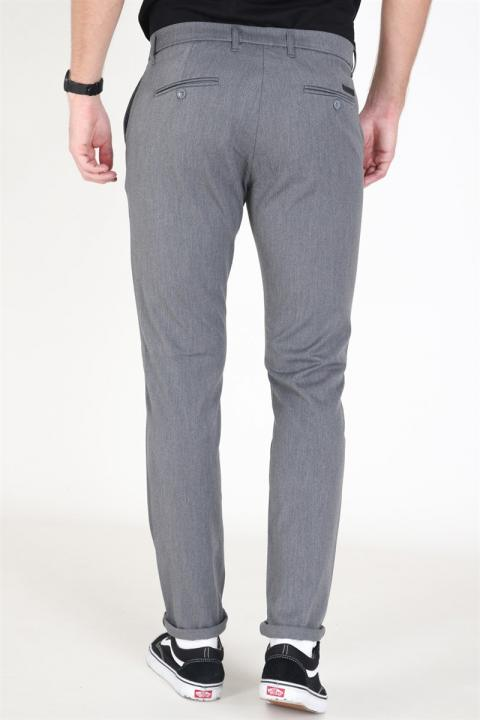 WoodBird Steffen Twill Pants Light Grey