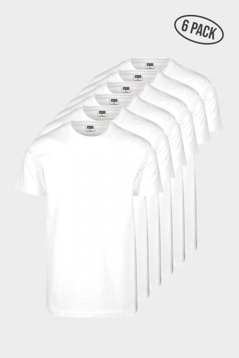 Basic Tee 6-Pack White