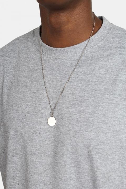 Basic Brand Oversize T-shirt Oxford Grey