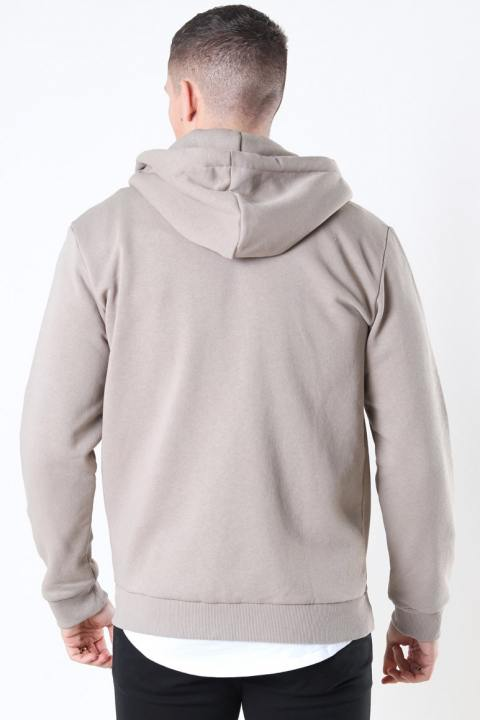 Only & Sons Ceres Life Zip Hoodie Chinchilla