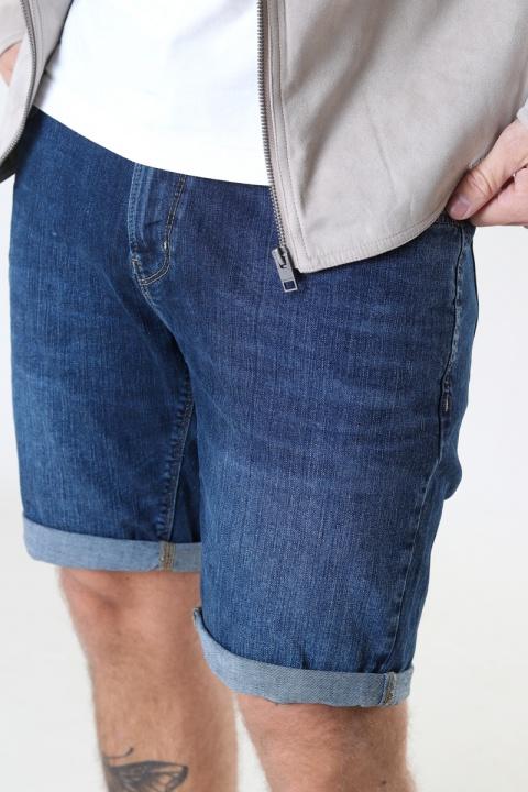Clean Cut Copenhagen Chris Stretch Shorts 2001 2001 Dark Blue Denim