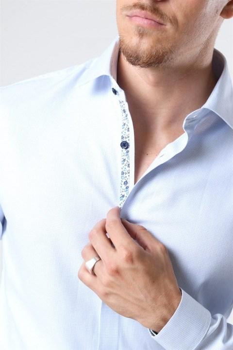 Jack & Jones Viggo Dobby Skjorte White