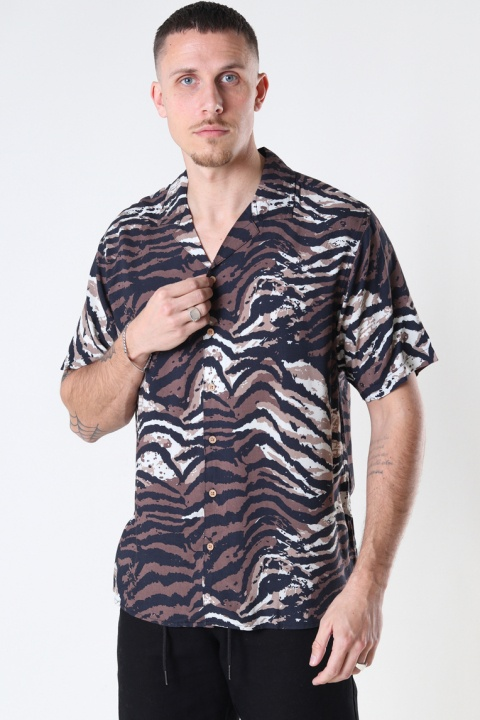 Just Junkies Goda Shirt 118 - Brown