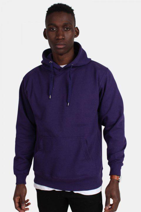 Bilde av Basic Brand Hooded Genser Violet