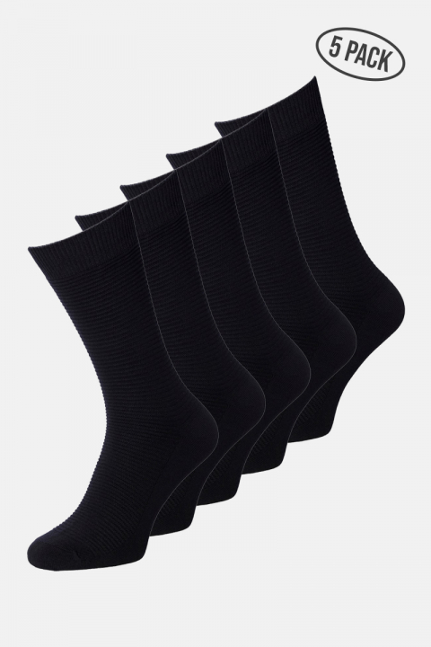 Image of Jack & Jones JACJENS SOCK 5 PACK NOOS Black Black & Black & Black & Black (125000000766-ONE_SIZE)
