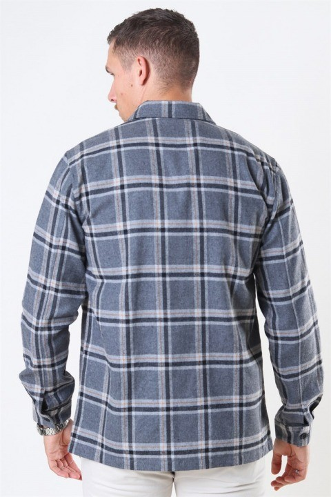 Just Junkies Minex Skjorte Grey Mellange
