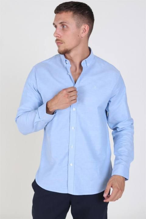 Køb Clean Cut Oxford Plain Skjorte Light Blue