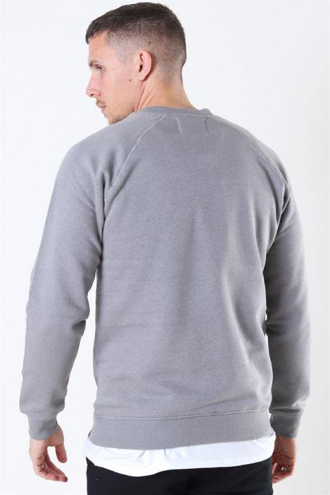 Denim Project Logo Crew Mid Grey