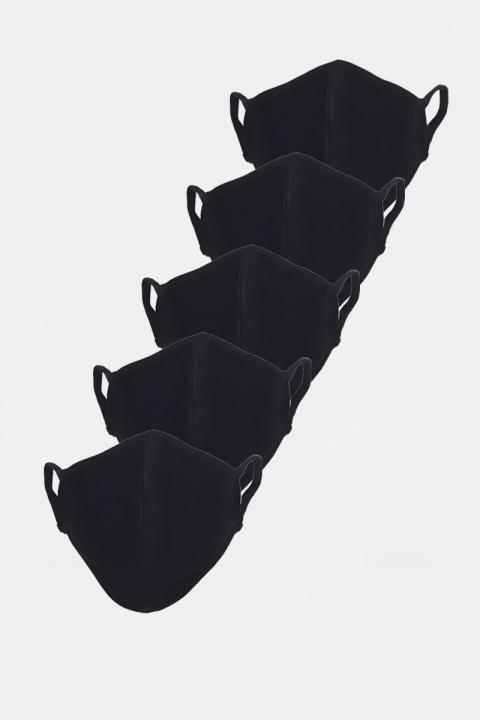 Liebhaveri Stretch Mundbind 5-pack Black
