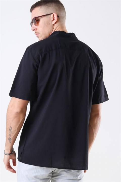 Jack & Jones Jaden Skjorte S/S Black Tap Shoe