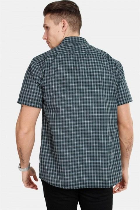 WoodBird Trays S/S Prime Skjorte Black/Green