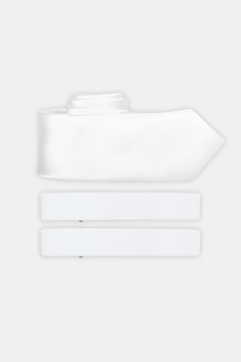 Køb Slips & Armband White