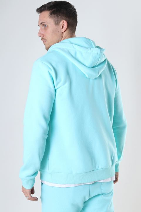 Only & Sons Onsceres Life Zip Thr. Hoodie Sweat Island Paradise