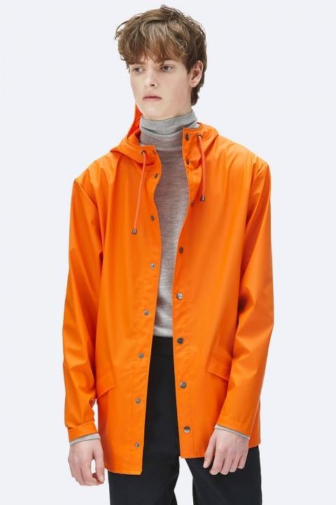 Køb Rains Regnjakke Fire Orange
