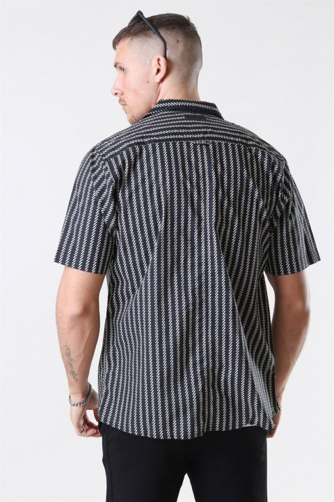 Just Junkies Ross Skjorte S/S Black