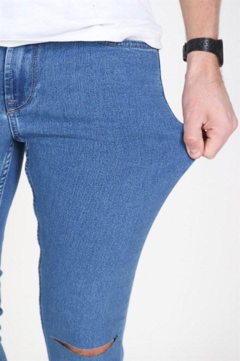 Only & Sons Jeans Wrap W/Rip Camp 7039 Light Blue Denim