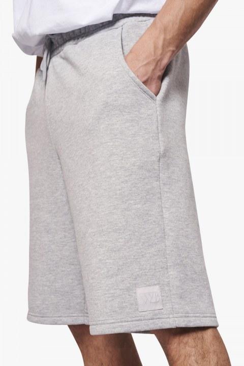 Woodbird Plook Mitu Shorts Grey Melange