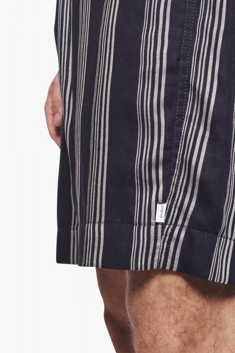 Woodbird Bommy Seal Shorts Navy-White