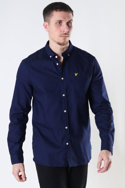 Lyle & Scott Regular Fit Light Weight Oxford Shirt Navy