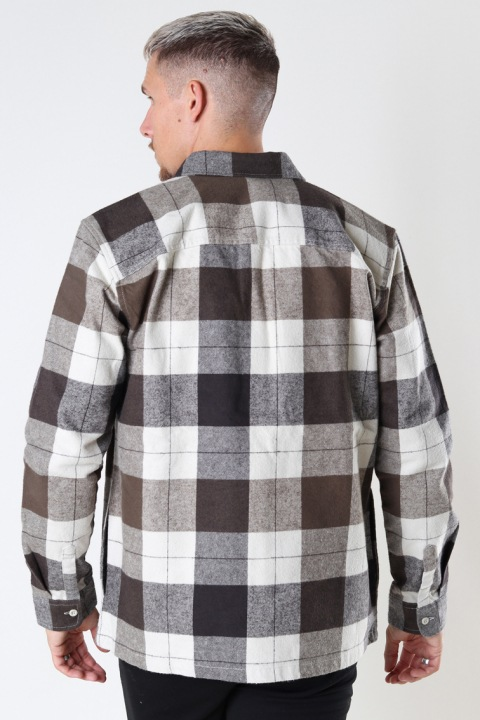 ONLY & SONS ONSJOSH LIFE OVER SHIRT 0469 Licorice