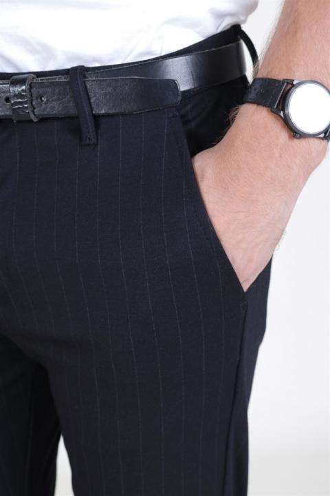 Gabba Pisa Chino Pinstripe Black Pin