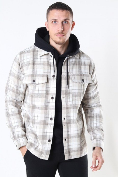 Just Junkies Minex New Overshirt Sand
