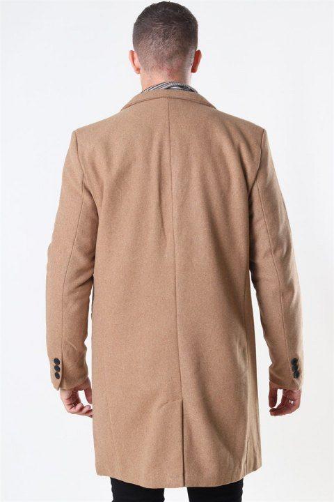 Only & Sons Maximus Wool Frakke Camel