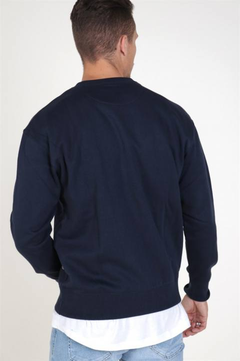 Jack & Jones Soft Sweat Crew Neck Navy Blazer