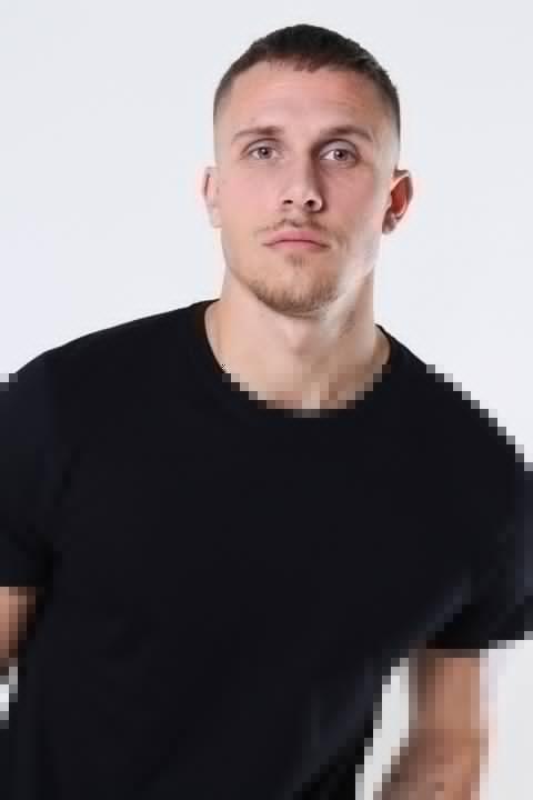 Basic Brand Cam T-shirt 6-Pack Black