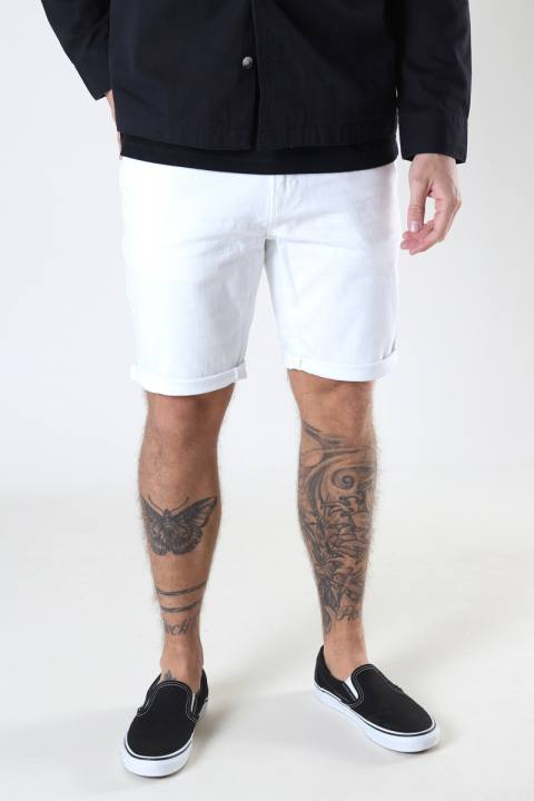 Clean Cut Copenhagen Chris Stretch Shorts 4001 4001 White Denim