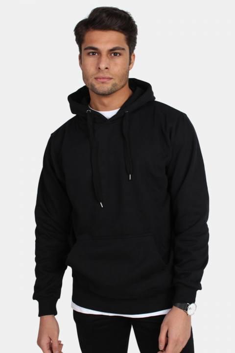 Bilde av Basic Brand Hooded Genser Black