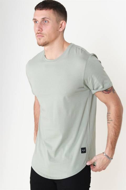 Only & Sons Matt Life Longy SS T-Shirt Sea Grass