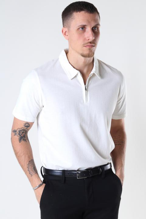 Jack & Jones JPRBLAASHER SS POLO Egret REG FIT