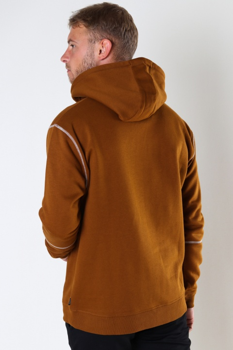 ONLY & SONS ONSFLETCHER LIFE  STITCH HOODIE Monks Robe