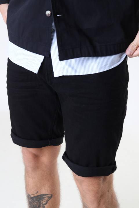 Clean Cut Copenhagen Chris Stretch Shorts 1001 1001 Black Denim