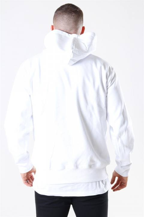 Basic Brand Hooded Sweat White