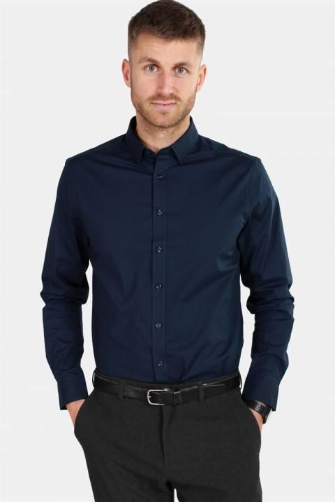 Solid Tyler LS Skjorte Insignia Blue