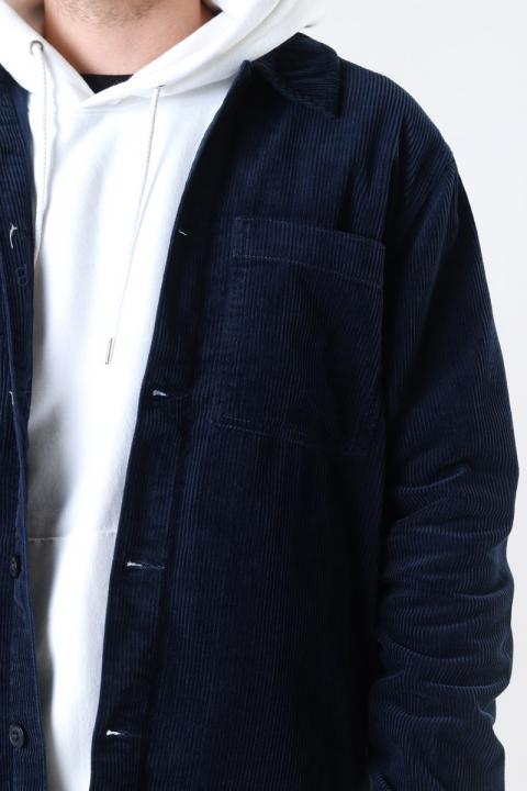 Solid Phillipe Overshirt Insignia Blue