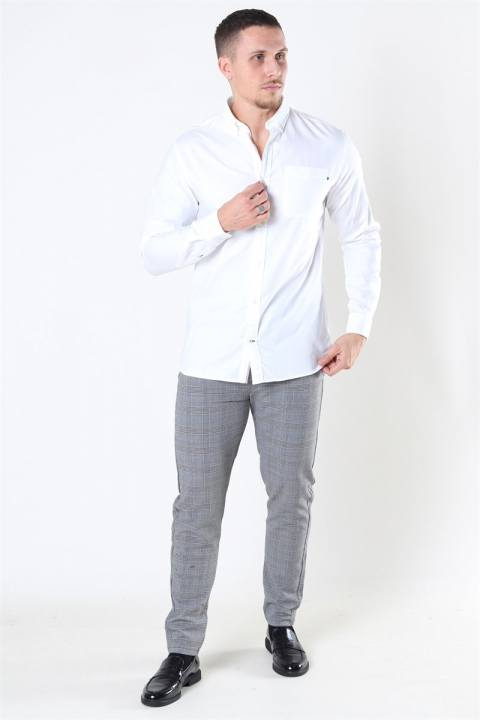 Jack & Jones Classic Soft Oxford Skjorte LS White