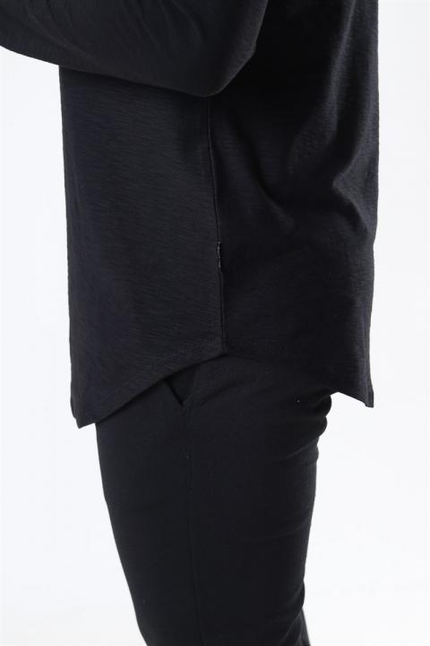 Only & Sons Elgin Life Longy LS T-shirt Black