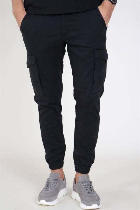 Jack & Jones Paul Flake Cargo Pants Black