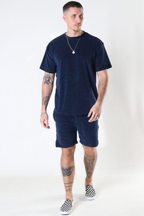 Just Junkies Frot Shorts  004 - Navy