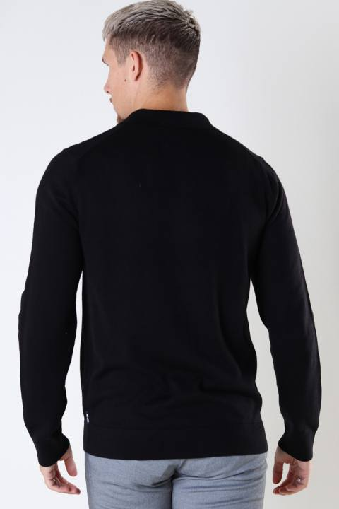 ONLY & SONS ONSCHRISTOPH LIFE POLO KNIT Black