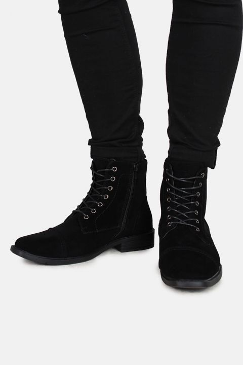 Boots Suede Black