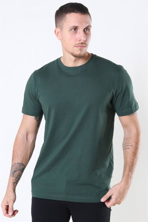 Køb Selected Norman 180 SS O-Neck T-shirt Sycamore